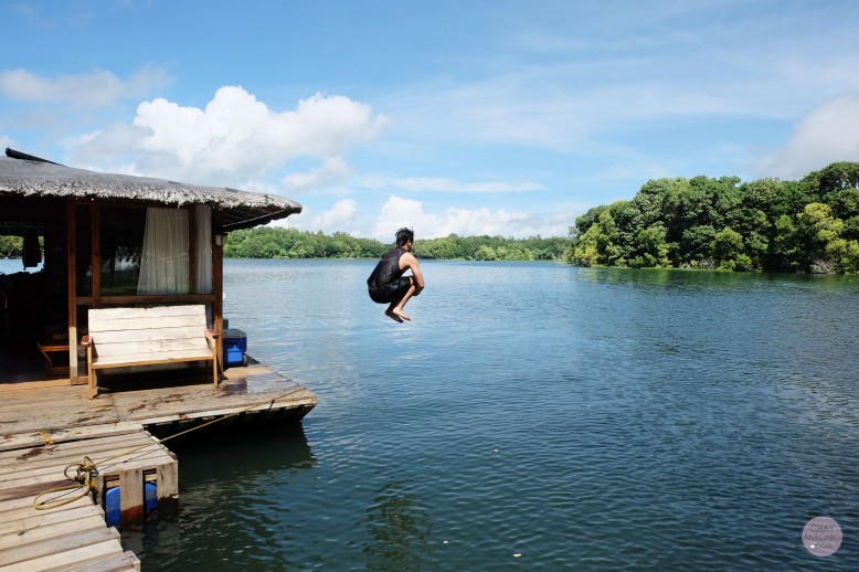 Aquascape's Floating Cottage, Lake Caliraya